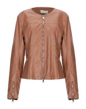 Куртка KAOS JEANS. Цвет: коричневый