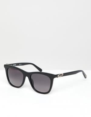 Черные квадратные солнцезащитные очки LOVE Moschino-Черный Moschino