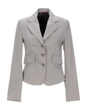 Пиджак DIVINA. Цвет: серый