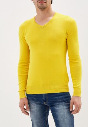 Пуловер Alcott. Цвет: желтый