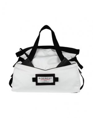 Дорожная сумка GIVENCHY. Цвет: белый