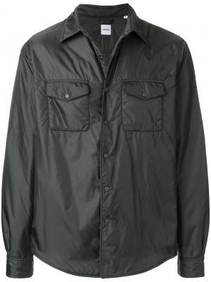 Короткая куртка Aspesi. Цвет: серый