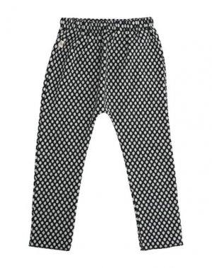 Повседневные брюки BISOUS. Цвет: черный