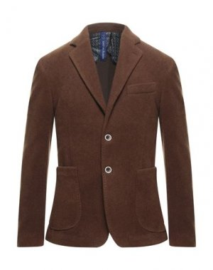 Пиджак LOST IN ALBION. Цвет: коричневый