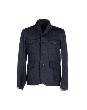 Пиджак BLAUER. Цвет: стальной серый