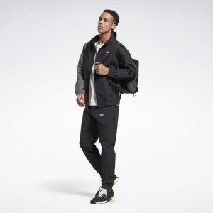 Спортивный костюм Techstyle Reebok. Цвет: black