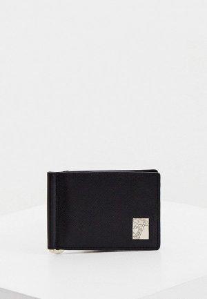 Зажим для купюр Versace Collection. Цвет: черный