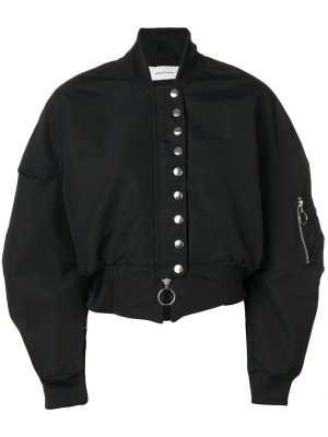 MarquesAlmeida куртка-бомбер на кнопках Marques'Almeida. Цвет: черный