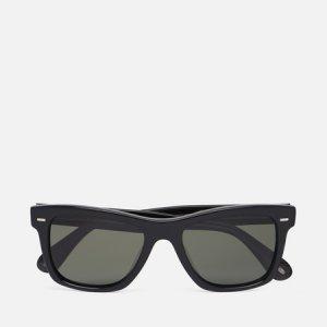 Солнцезащитные очки Oliver Sun Polarized Peoples. Цвет: чёрный