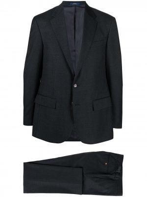 Костюм Core с однобортным пиджаком Polo Ralph Lauren. Цвет: серый