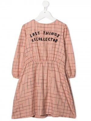 Платье Lost Things Collector Bobo Choses. Цвет: розовый