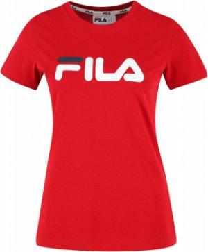 Футболка женская , размер 42 FILA. Цвет: красный