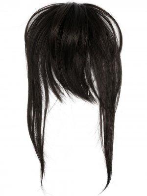 Ободок с париком MM6 Maison Margiela. Цвет: черный