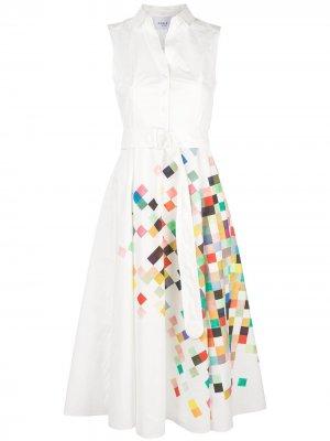 Платье с принтом Akris Punto
