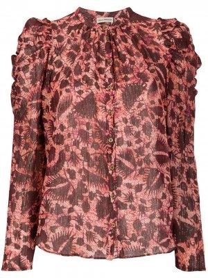 Блузка Adina с принтом Ulla Johnson. Цвет: красный