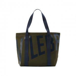 Текстильная пляжная сумка Vilebrequin. Цвет: хаки