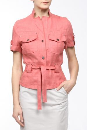 Жакет L-Design. Цвет: розовый