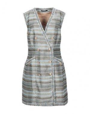 Короткое платье ISABEL GARCIA. Цвет: небесно-голубой