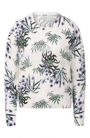 Пуловер Kenzo. Цвет: бежевый