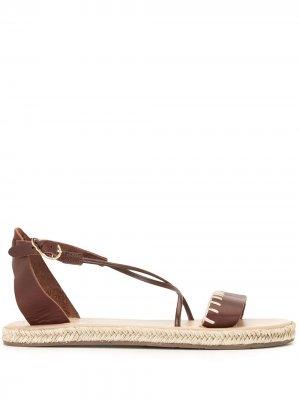 Эспадрильи Lola Ancient Greek Sandals. Цвет: коричневый
