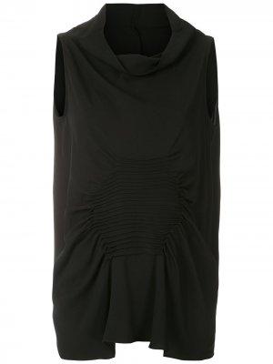 Блузка без рукавов Cannes Uma | Raquel Davidowicz. Цвет: черный