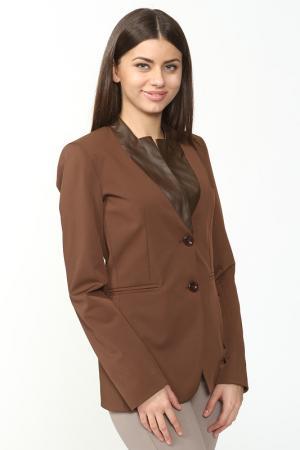 Пиджак Anna Rita N. Цвет: коричневый