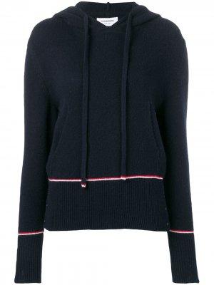 Выбеленный пуловер с полосками RWB Thom Browne
