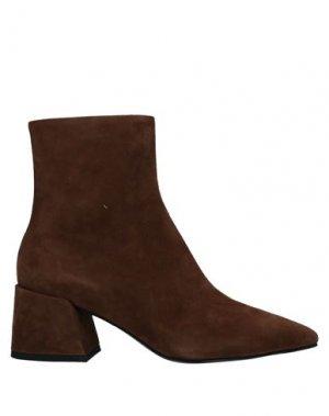 Полусапоги и высокие ботинки GIAMPAOLO VIOZZI. Цвет: коричневый
