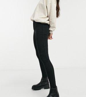 Черные джинсы скинни с классической талией -Черный цвет Dr Denim Tall