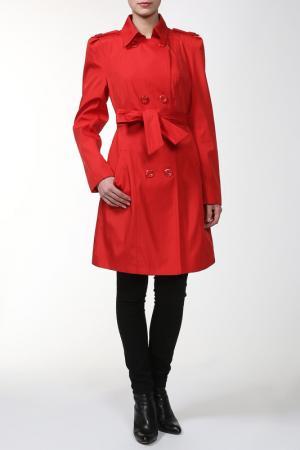 Пальто Алиса. Цвет: красный