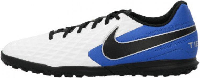 Бутсы мужские Legend 8 Club TF, размер 43.5 Nike. Цвет: белый