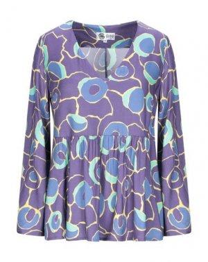 Блузка BINI Como. Цвет: фиолетовый