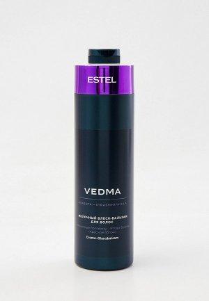 Бальзам для волос Estel VEDMA, блеска волос, PROFESSIONAL, молочный, 1000 мл. Цвет: прозрачный