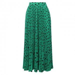 Юбка Balenciaga. Цвет: зелёный