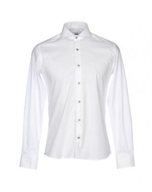 Pубашка CR7 CRISTIANO RONALDO. Цвет: белый