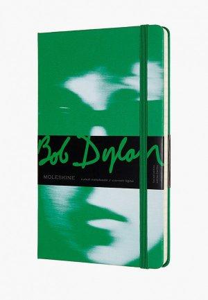 Блокнот Moleskine BOB DYLON. Цвет: зеленый