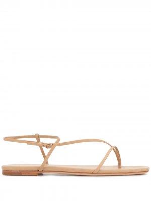 Thin strap sandals Studio Amelia. Цвет: коричневый