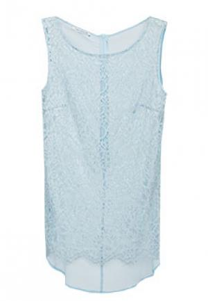 Блуза FLAVIO CASTELLANI. Цвет: голубой
