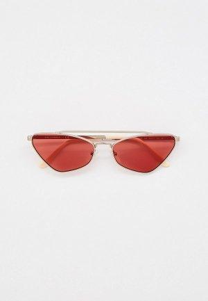 Очки солнцезащитные Karl Lagerfeld KL 312S 709. Цвет: серебряный