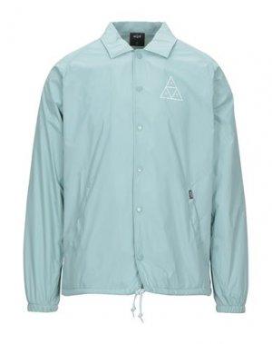 Куртка HUF. Цвет: бирюзовый