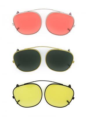 Солнцезащитные очки Drive Package Moscot. Цвет: многоцветный