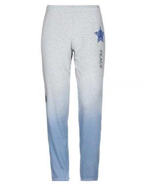 Повседневные брюки LAUREN MOSHI. Цвет: светло-серый