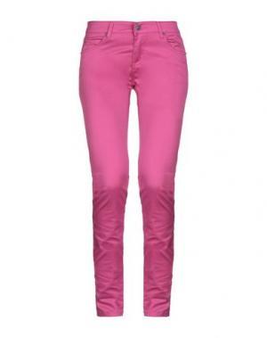 Повседневные брюки CHEAP MONDAY. Цвет: светло-фиолетовый