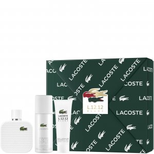 Подарочный набор L.12.12 Blanc For Him Eau De Toilette 100ml Lacoste