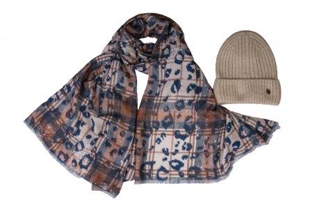 Комплект шапка палантин MYLIKE
