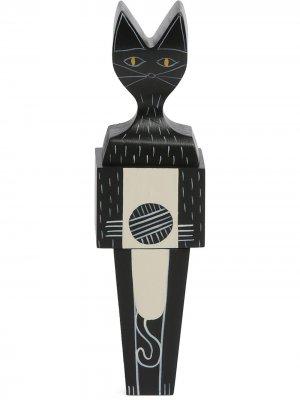 Фактурная статуэтка в форме кота Vitra. Цвет: черный
