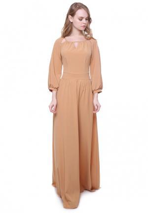 Платье Marichuell PALOMA. Цвет: бежевый