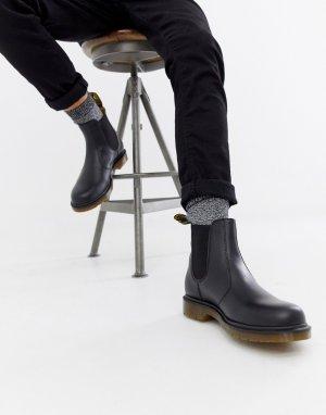 Черные ботинки челси 2976-Черный Dr Martens