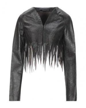 Куртка FRANCESCA PICCINI. Цвет: черный