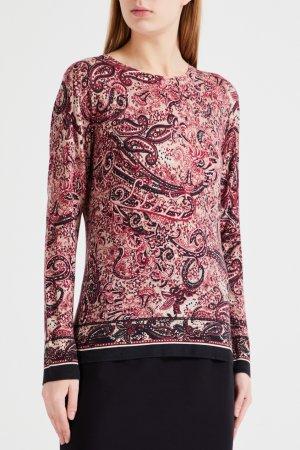 Пуловер с узором в стиле «турецкий огурец» Max Mara Studio